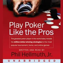 Play Poker Like The Pros by Phil Hellmuth audiobook