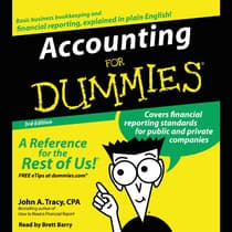 Accounting for Dummies 3rd Ed. by John A. Tracy audiobook