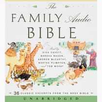 The Family Audio Bible by HarperAudio audiobook