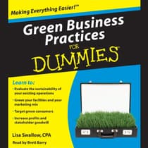 Green Business Practices for Dummies by Lisa Swallow audiobook