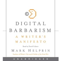 Digital Barbarism by Mark Helprin audiobook