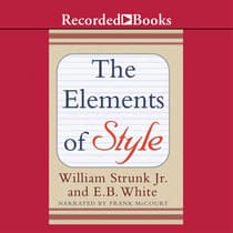 The Elements of Style by William Strunk audiobook