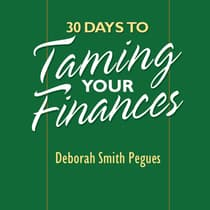 30 Days to Taming Your Finances by Deborah Pegues audiobook