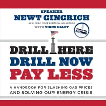 Drill Here, Drill Now, Pay Less by Newt Gingrich audiobook