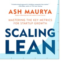 Scaling Lean by Ash Maurya audiobook