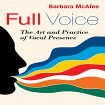 Full Voice by Barbara McAfee audiobook