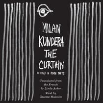 The Curtain by Milan Kundera audiobook