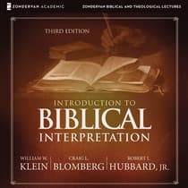 Introduction to Biblical Interpretation: Audio Lectures by Craig L. Blomberg audiobook