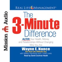 3-Minute Difference by Wayne E. Nance audiobook