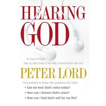 Hearing God by Peter Lord audiobook