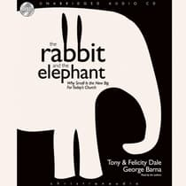 Rabbit and the Elephant by Tony Dale audiobook