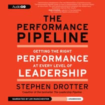 The Performance Pipeline by Stephen Drotter audiobook