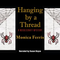 Hanging by a Thread by Monica Ferris audiobook