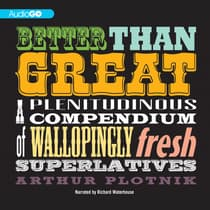 Better Than Great by Arthur Plotnik audiobook