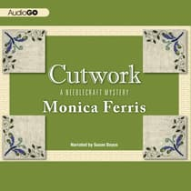 Cutwork by Monica Ferris audiobook