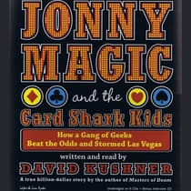 Jonny Magic and the Card Shark Kids by David Kushner audiobook