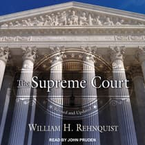 The Supreme Court by William H. Rehnquist audiobook