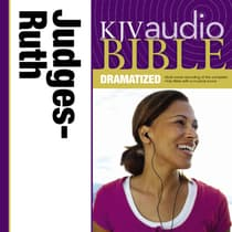 Dramatized Audio Bible - King James Version, KJV: (07) Judges and Ruth by Zondervan audiobook