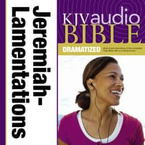 Dramatized Audio Bible - King James Version, KJV: (22) Jeremiah and Lamentations by Zondervan audiobook