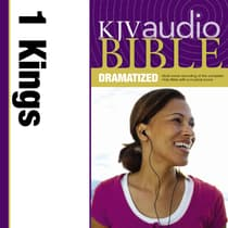 KJV, Audio Bible, Dramatized: 1 Kings, Audio Download by Zondervan audiobook