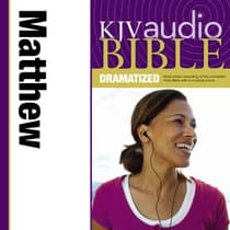 Dramatized Audio Bible - King James Version, KJV: (29) Matthew by Zondervan audiobook