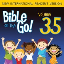 Bible on the Go Vol. 35: Baptism, Temptation, Disciples, and Miracles of Jesus (Matthew 3-4; Mark 1-2; John 1, 3; Luke 5-6) by Zondervan audiobook