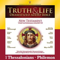 RSV, Truth and Life Dramatized Audio Bible New Testament: 1 and 2 Thessalonians, 1 and 2 Timothy, Titus, and Philemon, Audio Dow by Zondervan audiobook