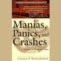 Manias, Panics, and Crashes by Charles Kindleberger audiobook