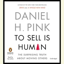 To Sell Is Human by Daniel H. Pink audiobook
