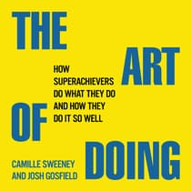 The Art Doing by Camille Sweeney audiobook
