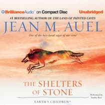 The Shelters of Stone by Jean M. Auel audiobook