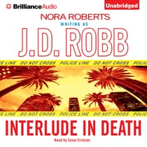 Interlude in Death by J. D. Robb audiobook