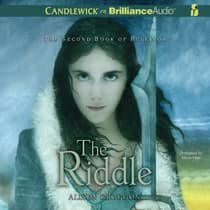 The Riddle by Alison Croggon audiobook