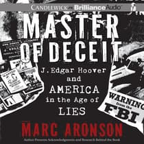 Master of Deceit by Marc Aronson audiobook