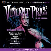 Vincent Price Presents, Vol. 3 by M. J. Elliott audiobook