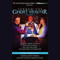 Jarrem Lee, Ghost Hunter: by Gareth Tilley audiobook