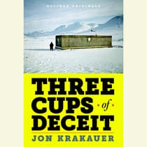 Three Cups of Deceit by Jon Krakauer audiobook