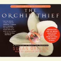 The Orchid Thief by Susan Orlean audiobook