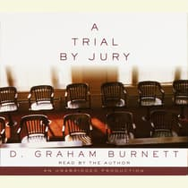 A Trial by Jury by D. Graham Burnett audiobook