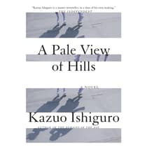 A Pale View of Hills by Kazuo Ishiguro audiobook