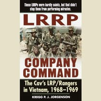LRRP Company Command by Kregg P. Jorgenson audiobook