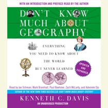 Don't Know Much About Geography by Kenneth C. Davis audiobook