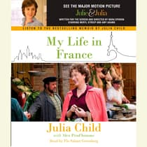 My Life in France by Julia Child audiobook