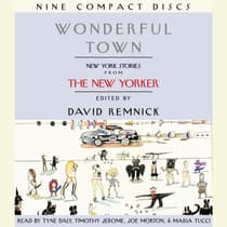 Wonderful Town by David Remnick audiobook