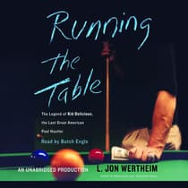 Running the Table by L. Jon Wertheim audiobook
