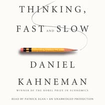 Thinking, Fast and Slow by Daniel Kahneman audiobook