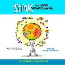 Stink and the Incredible Super-Galactic Jawbreaker by Megan McDonald audiobook