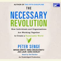 The Necessary Revolution by various authors audiobook