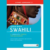 Swahili by Living Language audiobook