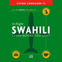 In-Flight Swahili by Living Language audiobook